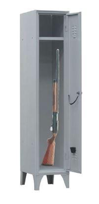 Armadio metallico a 1 posto per deposito provvisorio armi