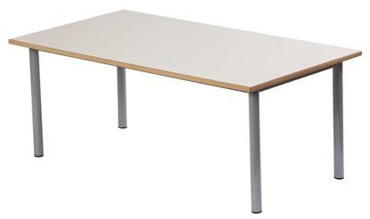 Tavolo rettangolare per mensa cm. 130x70x52 h