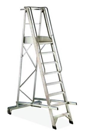 Immagine per la categoria Scala in alluminio con stabilizzatore