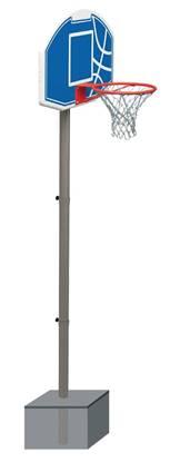 Set basket da interrare con altezza regolabile fino a cm. 305