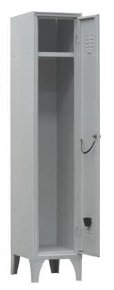 Armadio spogliatoio metallico a 1 anta con serratura