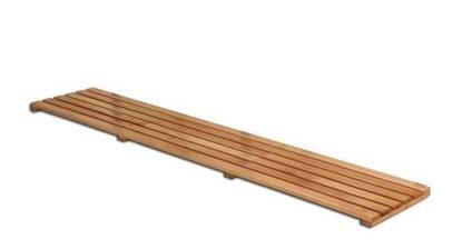 Pedana poggiapiedi in legno