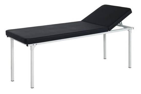 Lettino per visita medica con schienale regolabile