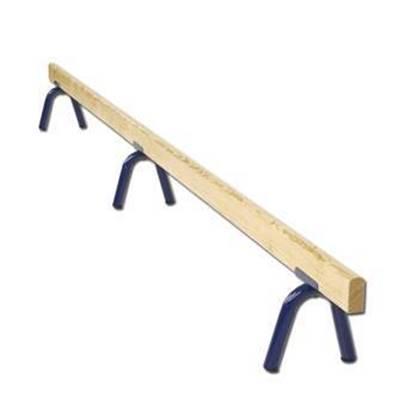Asse di equilibrio in legno ad altezza fissa