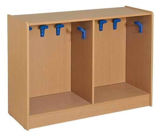 Armadio appendiabiti in legno a n.10 posti